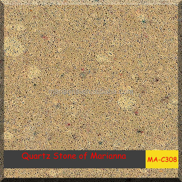 New style home decoration polishing quartz stone MA-C308