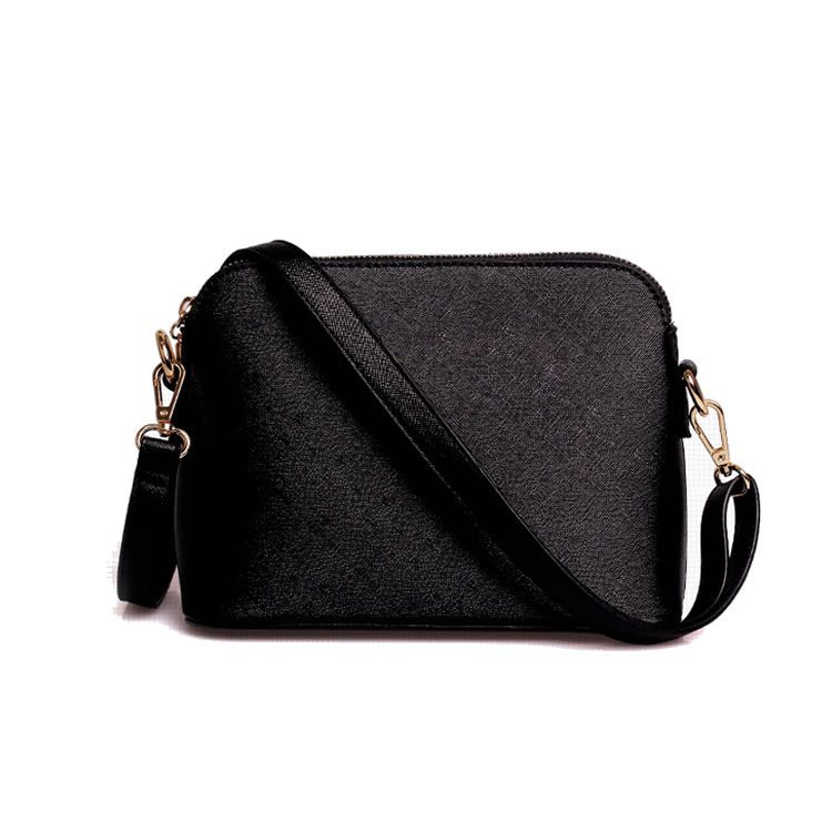 LP001 2016 High Quality Handbags New Model Wallet Good Looking Black Leather Women Bags Lady Purse