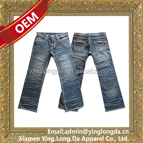 High quality hot sale cheap jeans pants models for men