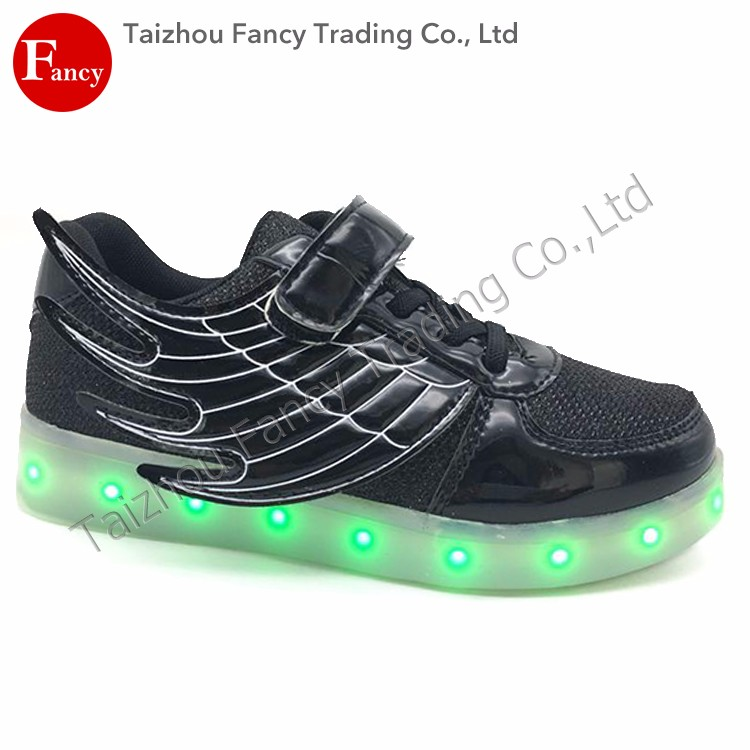Wholesale Rechargeable Customized Kids Led Light Shoes