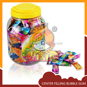 New product Nigeria Sour Center filled bubble gum