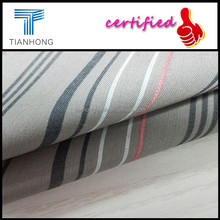 Wholesale Cheap 60Cotton 40Polyester Yarn Dyed Stripe Bedding Plain Weave Fabric/Yarn Dyed CVC Fabric/45S CVC Shirting Fabric