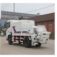 truck mounted concrete line pump(110m3/h diesel concrete pump,Dongfeng chassis concrete pump truck)