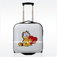 abs+pc 18 inch cartoon kids school trolley bags for boys