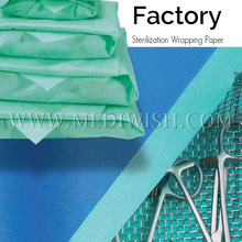 Autoclave sterilizer paper medical sterilization crepe paper / wrapping paper