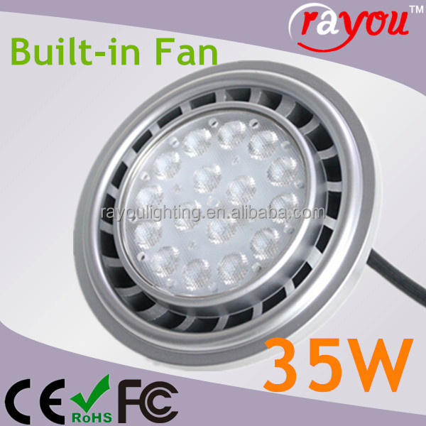 Hot selling cree led ar111 light, 35w ar111 led spotlights, G53 AR111 LED for halogen replace