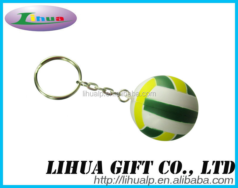 custom floating Promotional fashional pu foam keychain