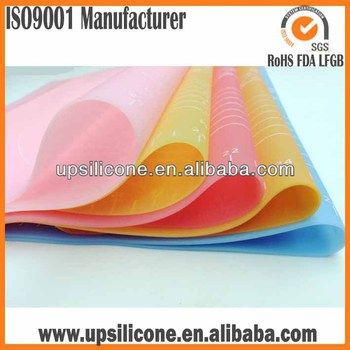 Custom color oven safe Silicon Baking Mat Liners