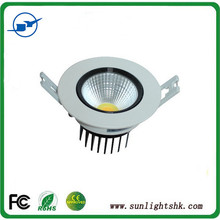 Wholesale 3 years warranty cob led downlight High Power 7W/ 9W/11W/15W/18W/ Dimmable led downlight