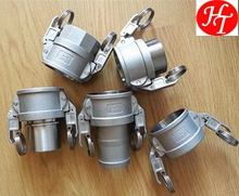 High quality camlock quick stainless steel guillemin coupling