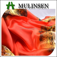 Shaoxing Mulinsen High Quality 100% Polyester Satin panties Fabric