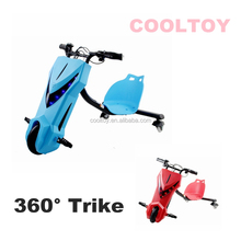 DP106 Cooltoy New Kids Electric Drifting Trike 3 Wheels Drifting Scooter With Front LED Running Light