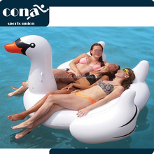 Swan PartyTube Inflatable Raft 2017Wholesale PVC inflatable swan float best inflatable giant swan water toys