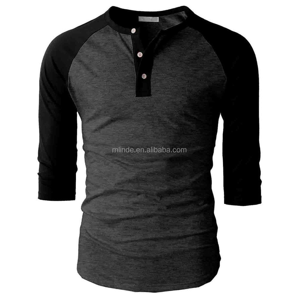 New Pattern T-shirts Long Sleeve Plain Dyed Pro Club T-shirts Blank Muscle T-Shirts Wholesale Custom Online Shopping