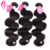 Skin Weft Seamless Unprocessed Mongolian Human Hair Weft Body Wave Extensions Natural Black