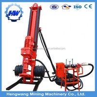 Hydraulic Open-air DTH offshore drilling rig for mining