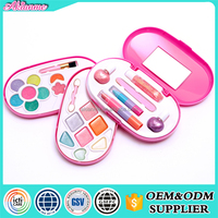 2016 New Hot Sale Safe Holiday Children Play Body Kids Makeup Sets