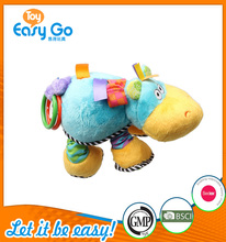 OEKO SEDEX soft baby pull toy with music