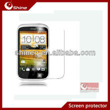 Diamond quality LCD screen protector for HTC Desire C A320e with factory price