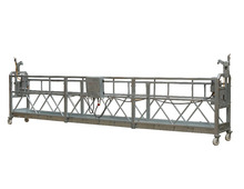 ZLP630 / ZLP800 aluminum temporary suspended platform / rope hanging gondola in China