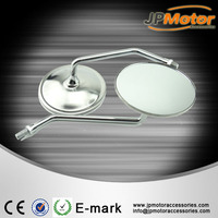 Bajaj motorcycle spare parts, high quality PP material rearview mirror for scooter, motorcycle