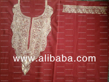 TILA WORK WARM SALWAR SUIT FOR WINTERS FROM KASHMIR