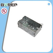 YGC-023 OEM Wiring flexible square electrical junction box connectors