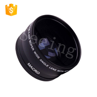 High Quality 58mm 0.45X Super Wide Angle camera Lens for Canon EOS 1100D 550D 700D 600D 500D kit + Lens Bag