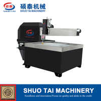 ST-2015 Flying-arm water jet cutting machine, glass water jet cutter/marble stone tile cutting by water jet machine