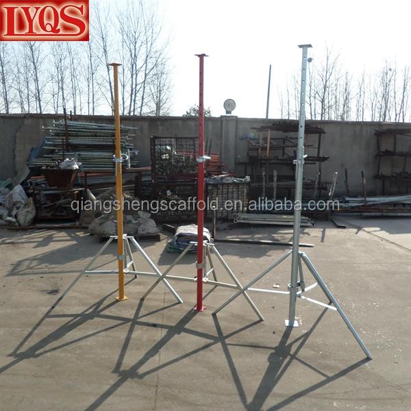 Adjustable Steel Post Shores : Building materials steel adjustable post shoring jacks for