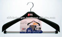 Household goods sales representative Jacket hanger made in Japan with rotation bar and hook
