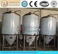 stainless steel 304 micro beer brewery fermenting tanks/pot machine/equipment