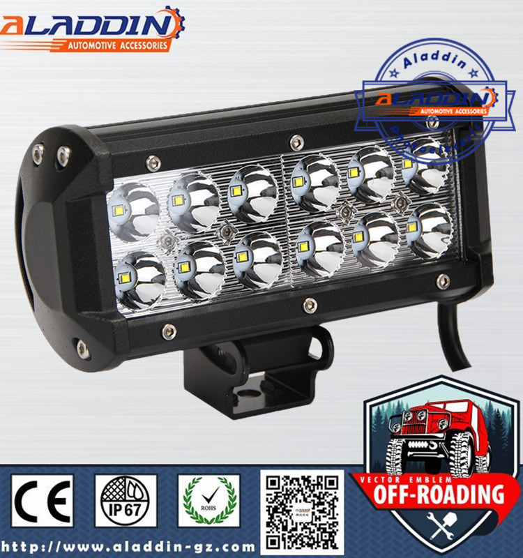 led bar lighting supporting the use of mini jeep 250cc 36w 12v 24v lamp led