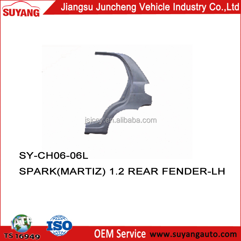 CHEVROLET SPARK rear fender car accessories market in china
