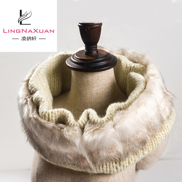2018 New Winter Fuax Fur Neck Warm Scarf for Kids and Adults