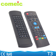 T3 mx3 2.4g 3d air mouse remote control for smart tv
