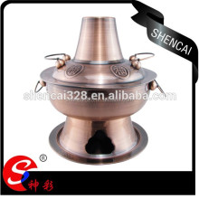 Charms Traditaions Copper Hot Pot With Charcoal Stove Base/Stainless Steel Fire Pot