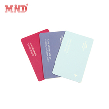 MDH84 Customized glossy HF 13.56mhz Ultralight EV1 plastic hotel key card