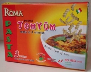 Roma Instant Vegetarian Tom Yum PASTA (Box)