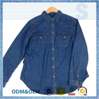 Direct factory price promotional open shirt styles