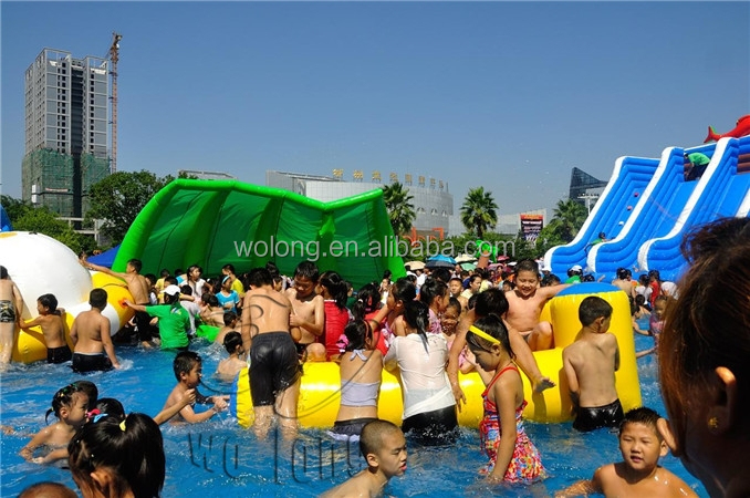 summer promotions inflatable comercial used water park slide
