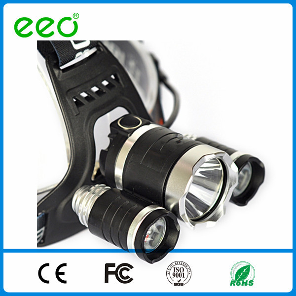 <strong>1000</strong> lumen led headlamp XML T6 LED Headlamp Headlight flashlight head light lamp 18650