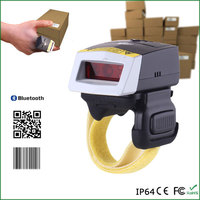 Factory lower price customized 2D handheld barcode scanner bluetooth mini wireless bar code reader WT01+FS02