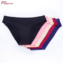 Women's seamless cheeky bikini panties <strong>underwear</strong>