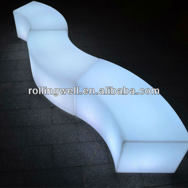 led lighting sofa couch bed living room furniture