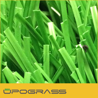S blade artificial grass for soccer
