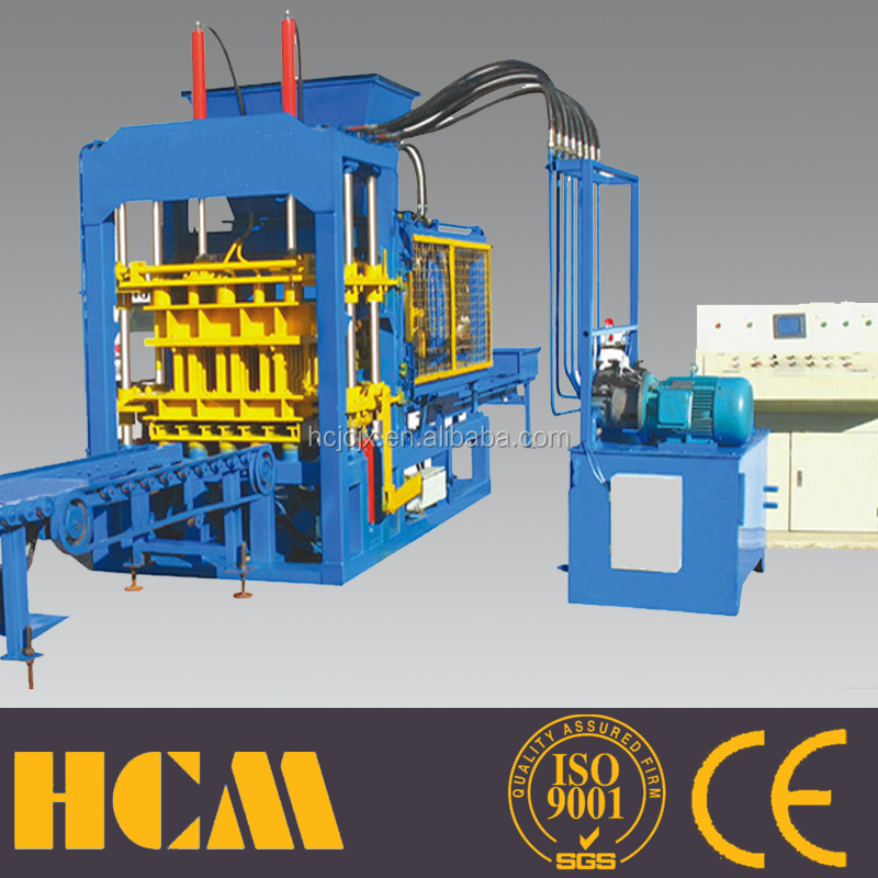 long working life Over 20 years famous brand electronically controlled cement brick machine