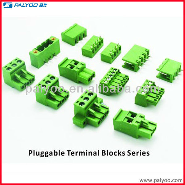 electric pluggable terminal block