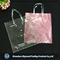 large capacity clear plastic vinyl bags pvc packaging with handle for kit sets