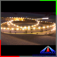side view car strip 335 smd led flexible strip light 12V IP20 with white and warm white color strips